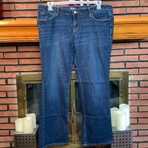 Mossimo Low Rise Bootcut Jeans SZ- 16 Short